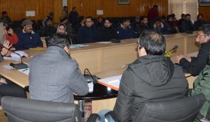 DDC Budgam reviews progress of Ring Road project