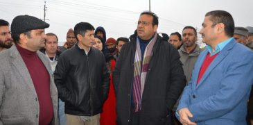 Commissioner Secretary L&E inspected proposed 100 bed ESIC hospital site in Budgam Health institute to cover 100 percent reimbursement of medicine, medical expenditure of patients under ESIC