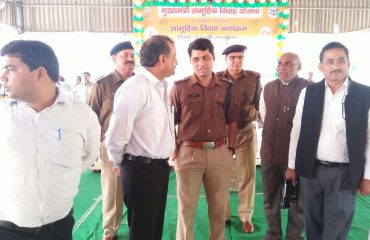 Program Inspection By District Magistrate on Chief Minister Comprehensive Wedding Plan