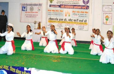Cultural Program by Students On National Voters Day