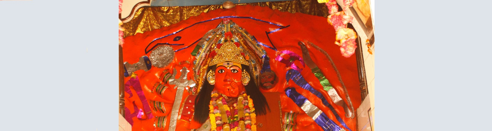 Statue of Devi Bari Chandka Ji Devi Bari Chandika Ji Temple Mahoba