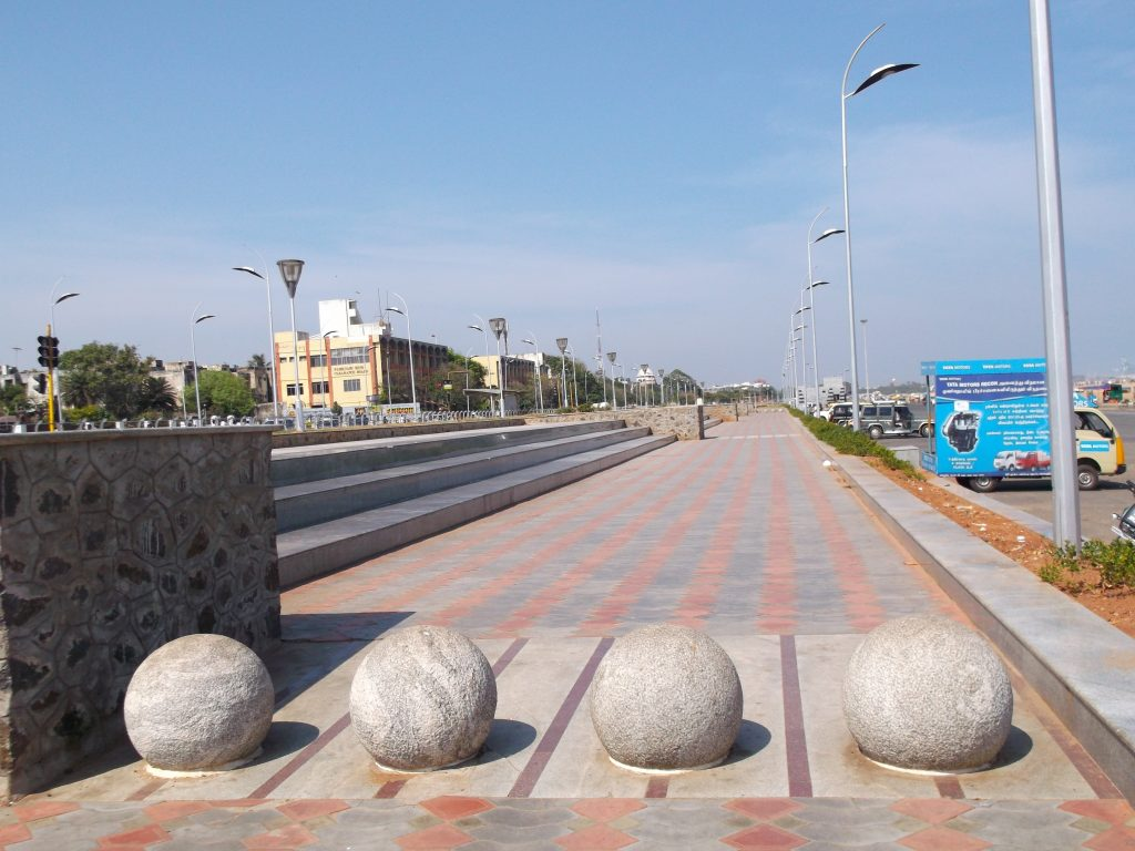 Marina Beach Promenade With Gallaries