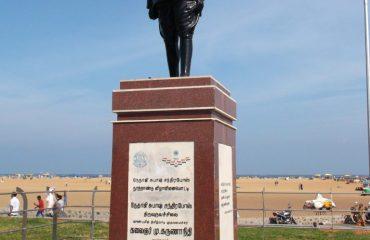 மெரினா கடற்கரையில் உள்ள என்.எஸ்.சி. போஸ் சிலை