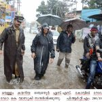 District collector Dr.K.Vasuki visits Thampanoor.