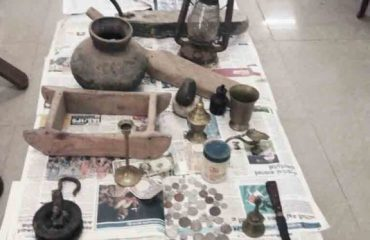 Exhibition of historical objects at Aayannoor.