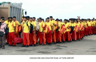 Odishia fire and Disaster team at Tvm Airport.