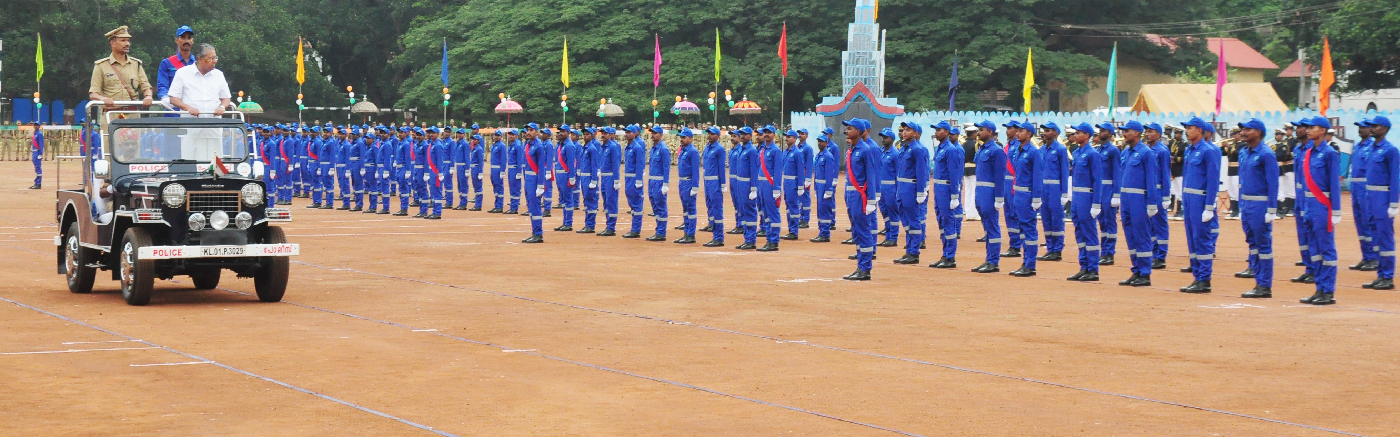 Passing Out Parade of Kerala Coastal Police Warden First Batch