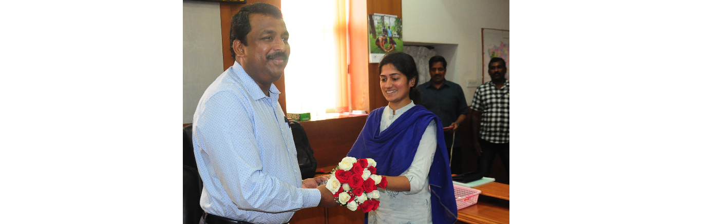 District Collector Thrissur Shanavas took charge