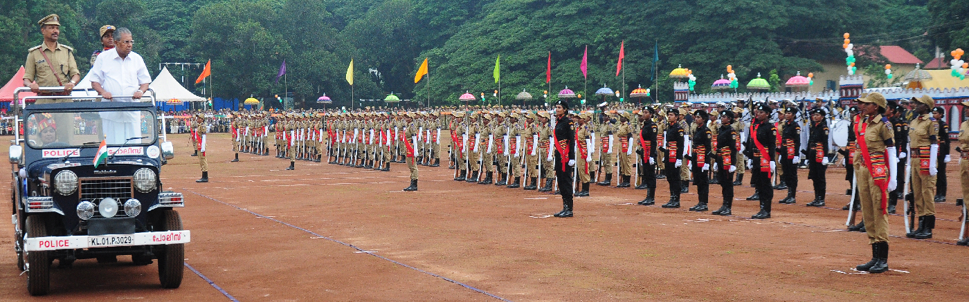 Passing Out Parade of Kerala Police Women