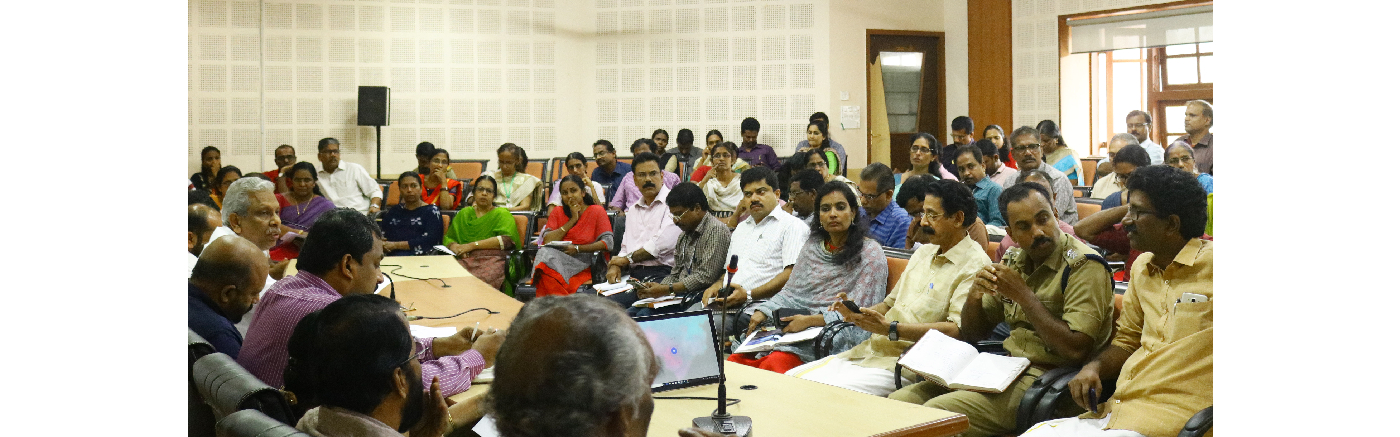 Disaster Management meeting at Collectorate