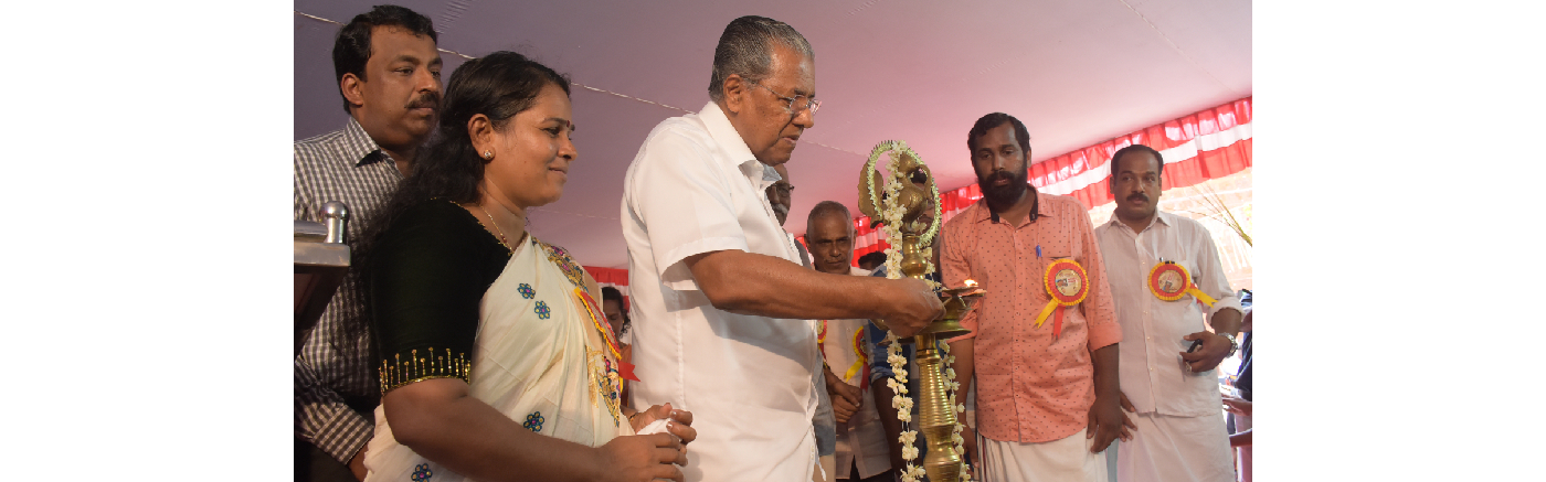 Honorable Chief Minister Inaugurates the Monument of Poet Sree Kunjunni Master