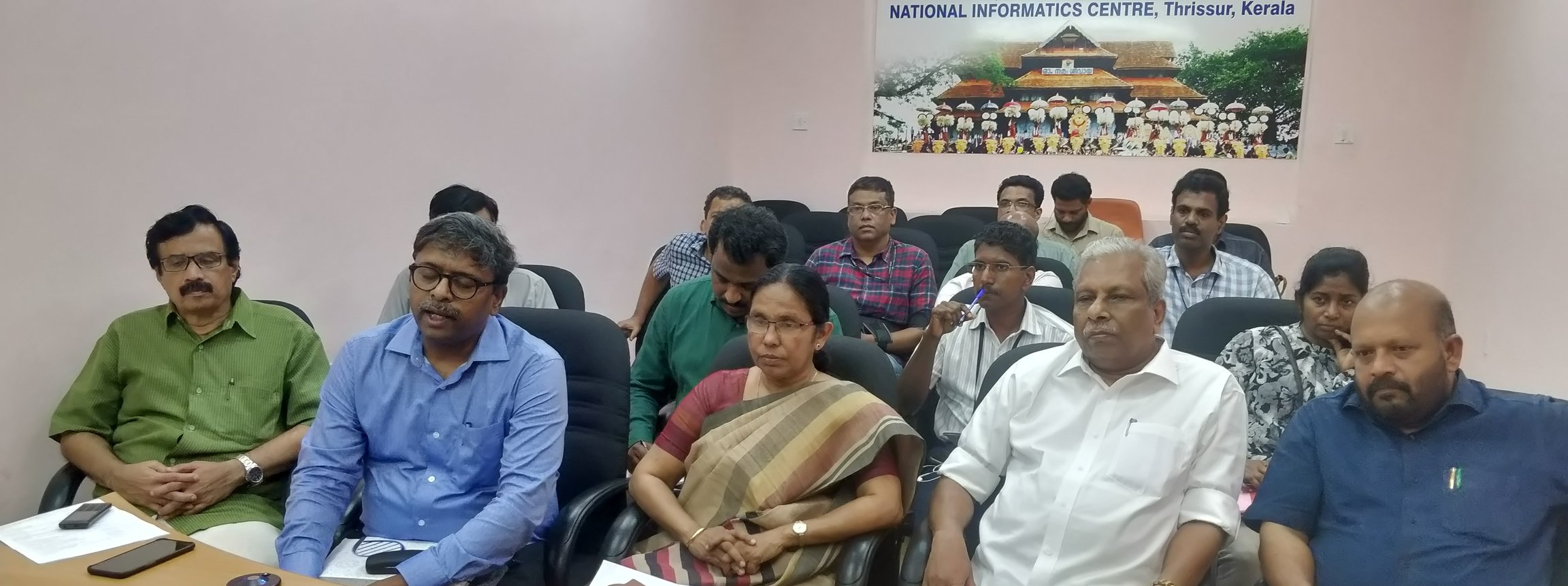 HON. MINISTERS VIDEO CONFERENCE WITH DISTRICT COLLECTORS ON CORONA PRECAUATIONS-2020