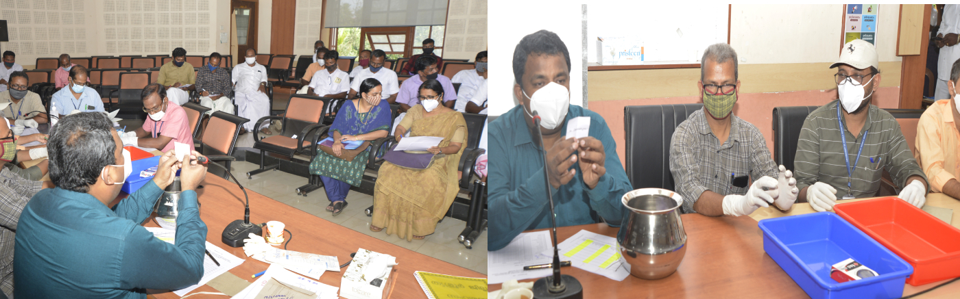 Election of reserved wards of local bodies held at Collectorate Conference Hall in the presence of Collector S Shanavas