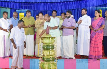 Inauguration of 'Njattuvela Chantha' at Irinjalakuda