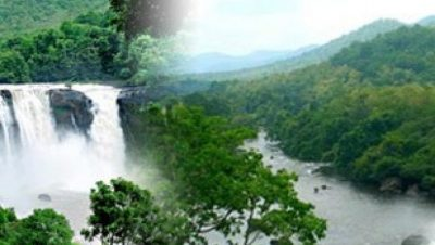 Athirappily Waterfall Views