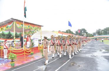 Police and NCC Parade