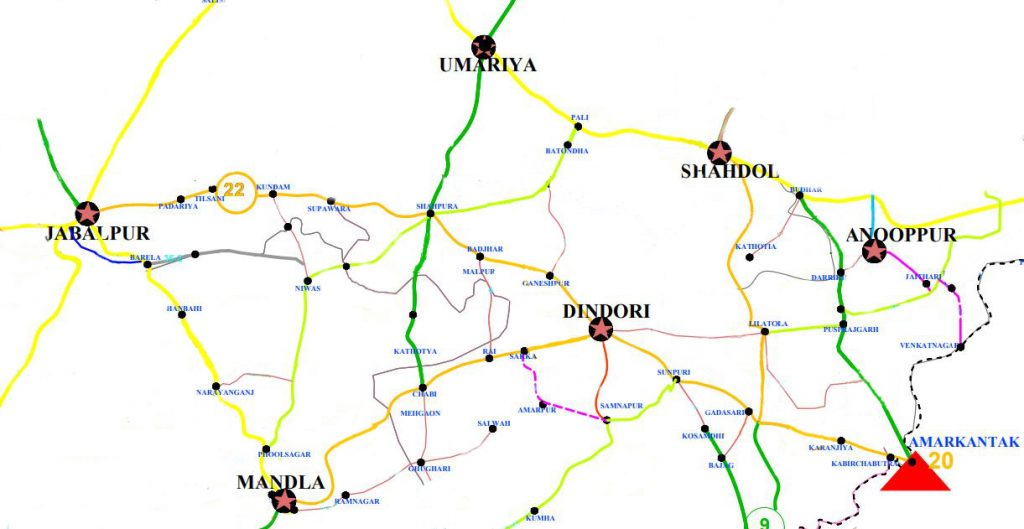 Road Network of Dindori