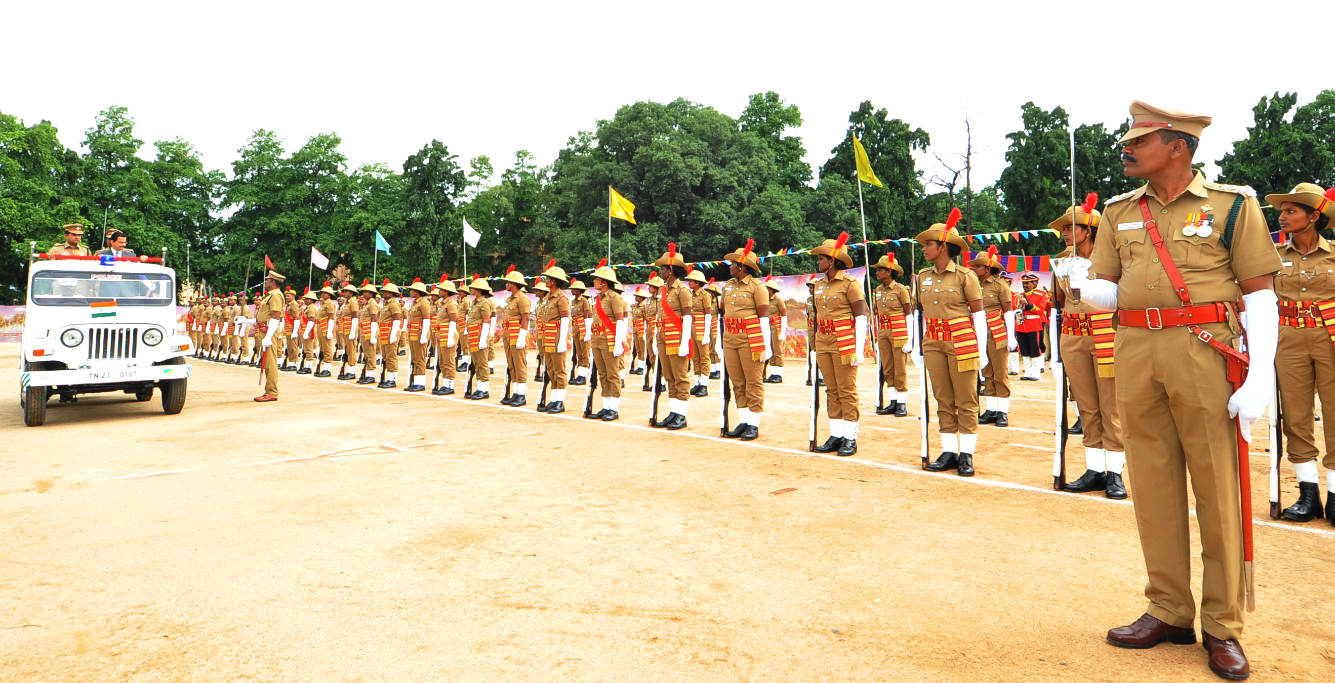 Independence day Celebrations - 2018 - Guard of honour