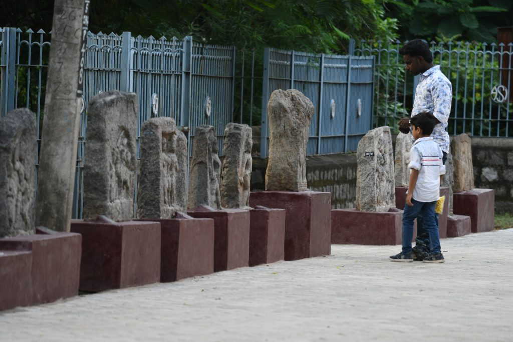 Row of Hero stones