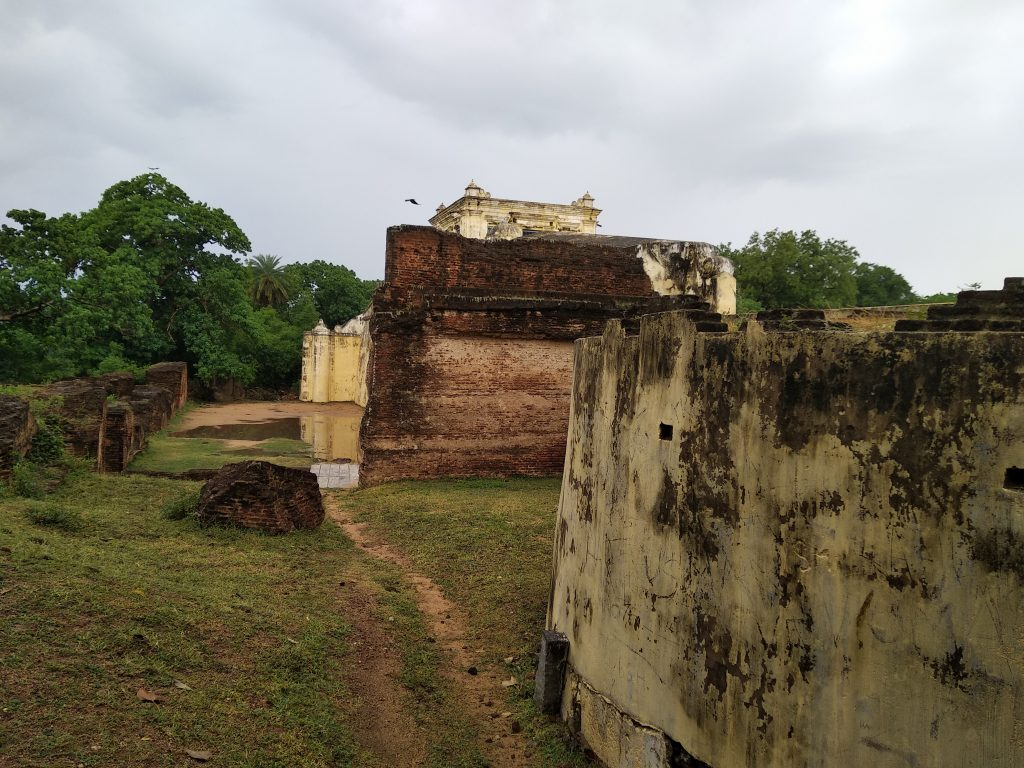 Back view, Delhi Gate, Arcot