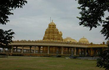 Sripuram Golden Temple Full view