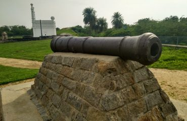 Cannon, Arcot Fort