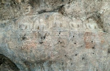 Jain Sculptures and inscriptions, Jain cave, Valli malai