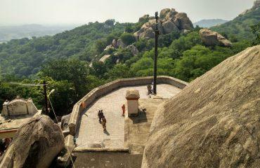 Top view, Vallimalai Murugan Temple