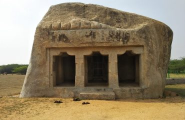 Rock cut temple, Mahendhravadi