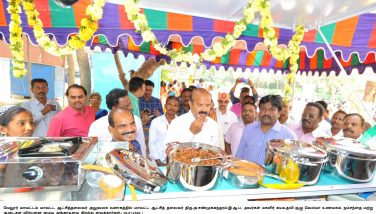 Inaugurated Women Self help Development Group's VELMA Hotel at Collector office 20/01/2020