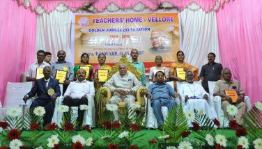 Honorable Governor and Collector Participated Teachers Home Golden Jubilee Celebration at Voorhees College