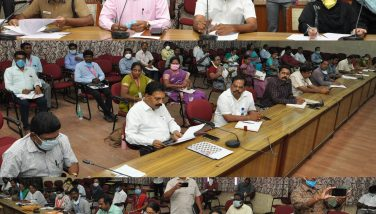 Honorable Commercial Tax and Registration Department Minister K.C.Veeramani Reviewed Corona Virus Preventive Methods 27-03-2020