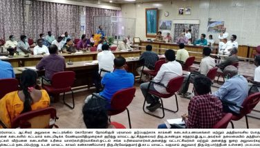 CORONA Virus Preventive Instruction Given to Vegetable and Hotel Owners 26-03-2020