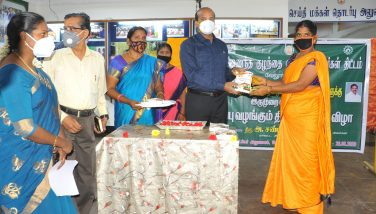 District Collector Given the Salf Packet to Anemia deficiency pregnant ladies 26-08-2020