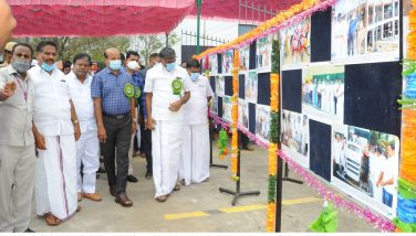 Honorable Minister K C Veeramani Visited Photograph Exhibition 12-01-2021