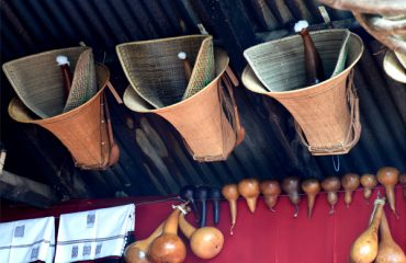 Naga Bamboo and cane Basket