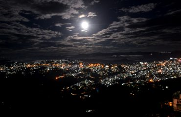 Night View of Kohima town
