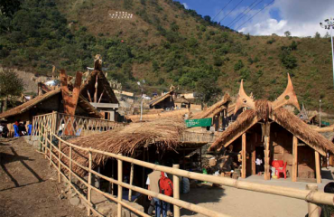Thatch Houses at Kisama