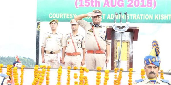 Independence Day in Kishtwar