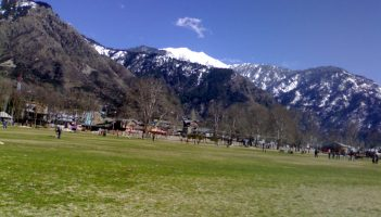 Play ground in Kishtwar