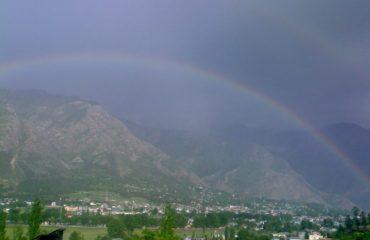 Rainbow in Kishtwar
