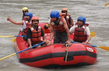 River Rafting at Gulabgah Paddar