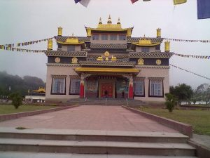 Tuting Monastry in Upper Siang