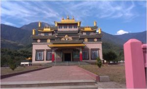 Gompa at Tuting in Upper Siang district