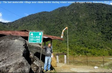 Gelling Vilage in Upper Siang district
