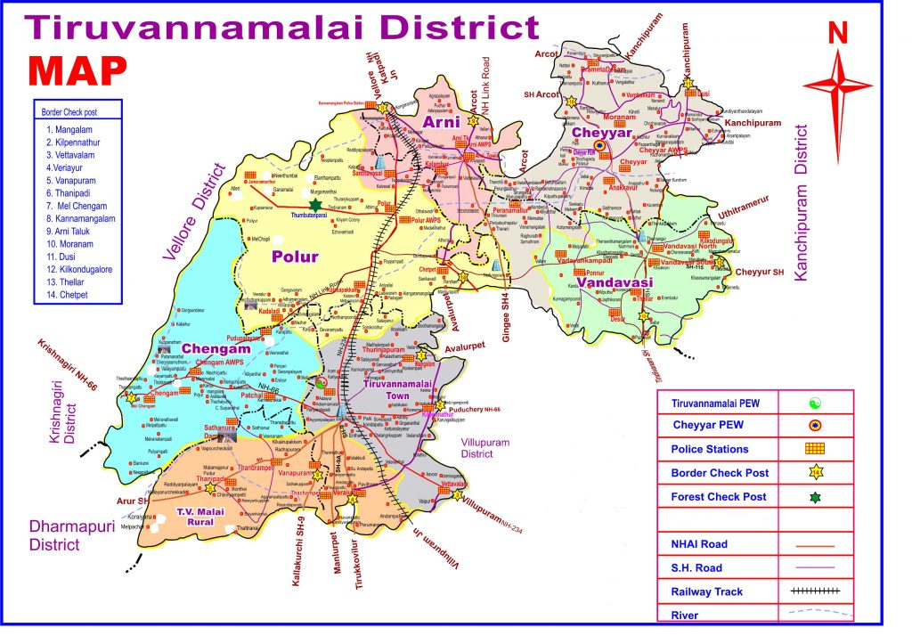 Revenue Division Map.