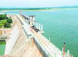 Tourist Place - Sathanur Dam Arial View.