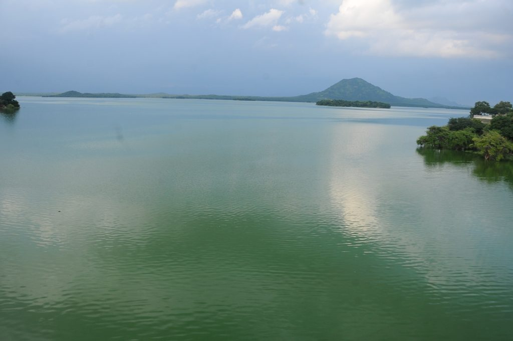 Tourist Place - Sathanur Dam Lake.