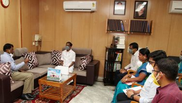 Meeting at Collectorate.