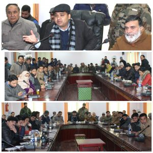 DDC holds public darbar at Manasbal
